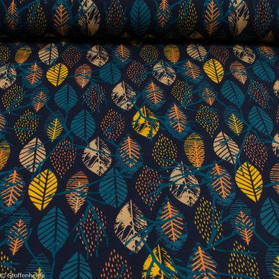 sweater: vrolijke hersftbladeren