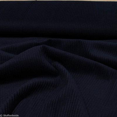 ribfluweel blauw