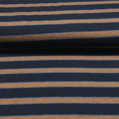 Streep roest blauw