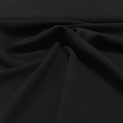 Structuur crepe: zwart