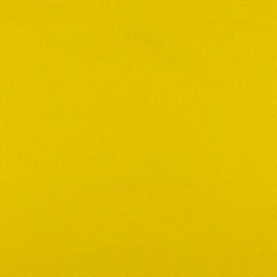 Katoen poplin geel