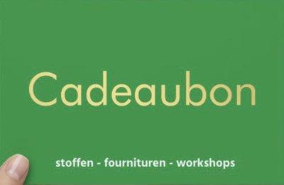 Cadeaubon - kaart