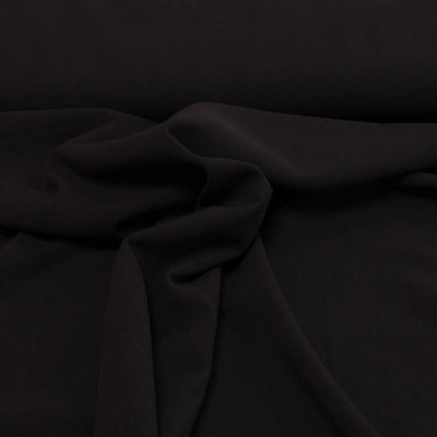 90 cm unicrepe - zwart