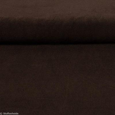 Ribfluweel Chocoladebruin