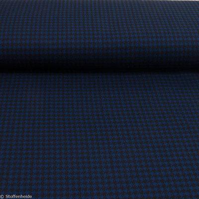 70 cm: Pied de poule - blauw