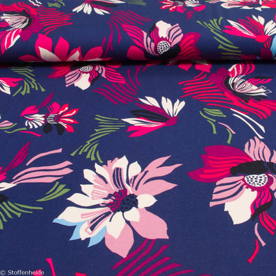 Tropical wave: flowers