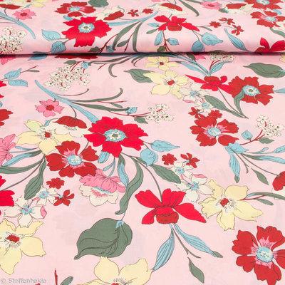 In Bloom pink flowers