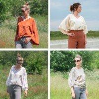 Vita blouse voor dames en tieners