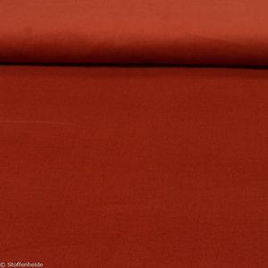 Fijn ribfluweel: terracotta