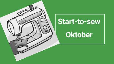 Workshop start-to-sew op donderdag: oktober
