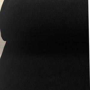 Chenille gebreid: zwart
