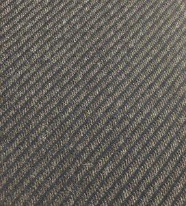 mantelstof diagonale lijn bruin