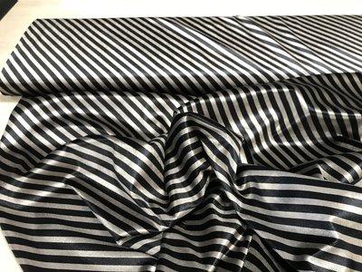 Rekbaar fluweel diagonale strepen
