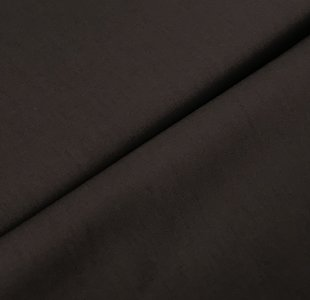 Katoen poplin bruin