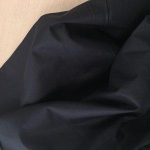 Katoen zwart extra breed 240 cm