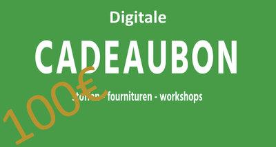 100€ Cadeaubon digitaal