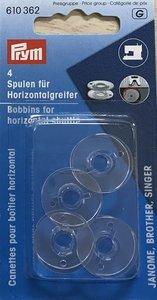 Spoelen voor horizontale grijper