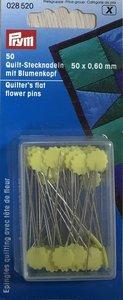 Spelden met bloemenkop