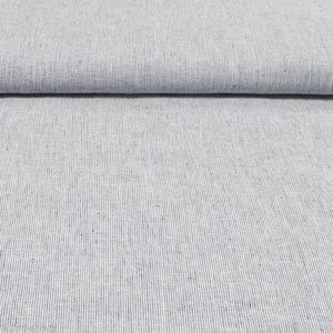 Fijne linnen streep 120 cm