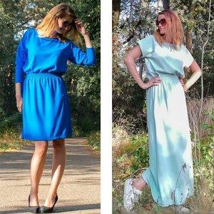 Lux jurk voor dames en tieners